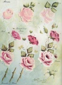how to paint roses - Google-søk