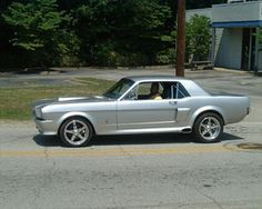 66 Mustang, Under Construction, Automobile, Vehicles, Mustangs, 18th, Heaven, Silver, Ideas