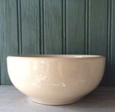 McNicol China Ironstone Chili Bowl