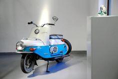 1958 Cezeta 502 - Czechoslovakian Design Moped Scooter, Motor Scooters, World's Fair, Motorbikes, Nostalgia, Art Deco, Motorcycle, Classic, Vintage Cars