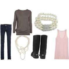 cute everyday outfit, but would not look good on me