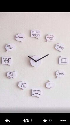 Home made clock