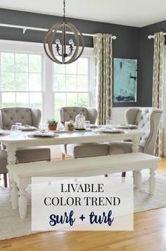 Livable Color Trend Surf + Turf