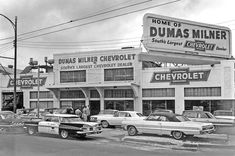 "Dumas Milner the ""South's Largest Chevrolet Dealer"""