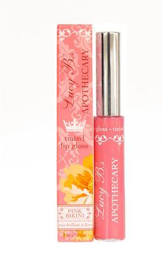 A pink and summery lip gloss~