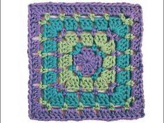 Piastrella Granny Punto Mosaico - YouTube Mandala, Shapes, Blanket, Knitting, Handmade, Vest Coat, Crochet Cushions, Crochet Squares, Picture Wall