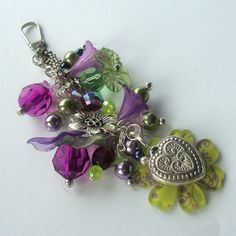 Handbag Charms | Uniquely Yours: My Finds at #Folksy. Charms for albums