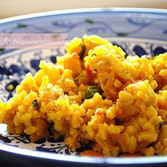 Paella, receta de paella mixta