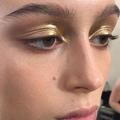 gold metallic lids