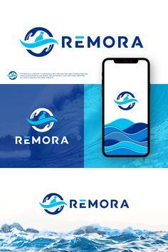Help us clean the oceans! Best Logo Design, Custom Logo Design, Custom Logos, Technology Design, Technology Logo, Logo Branding, Branding Design, Software Security, Clean Ocean
