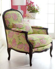 """Lilly Pulitzer """"Lauren"""" Chair - Neiman Marcus $1959.00"""