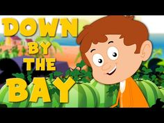 Down By The Bay | Nursery Rhymes For Childrens And Kids | Baby Songs - YouTube