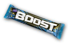 Cadbury Boost bar. Again, not an American candy but still really good!