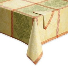 Tommy Bahama® Home Pineapple Jacquard Tablecloth and Napkin, 100% Cotton - BedBathandBeyond.com