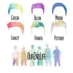 JC, Ricky, Trevor, Kian, Connor, and Sam