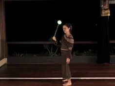 Beginner Poi Dancing Lesson: Crossing and Turning with One Poi - YouTube
