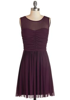 Night and Sway Dress in Plum. Day or night, this versatile purple dress from Jack by BB Dakota is your go-to for effortless elegance! #purple #modcloth
