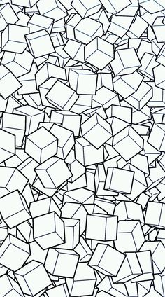Free coloring page free-mandala-to-color-cubes-3d. It's