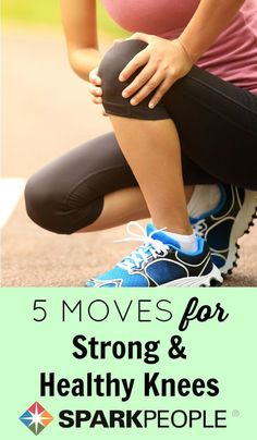 So happy that I found these exercises! My knees will thank me tomorrow. | via @SparkPeople