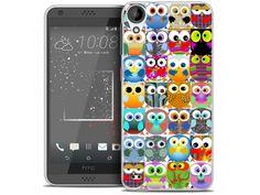 Coque Crystal Gel HTC Desire 530/630 Extra Fine Claude - Hibous - 7,90 €