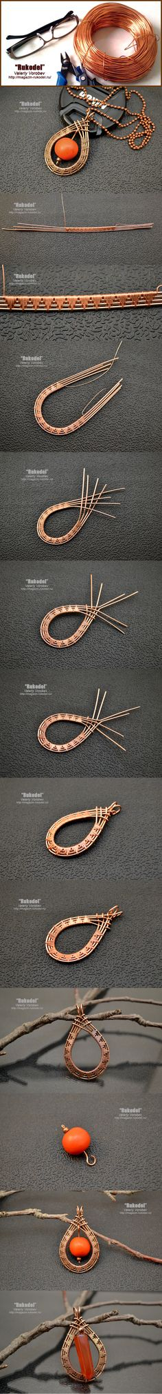 Intricate wire wrapping