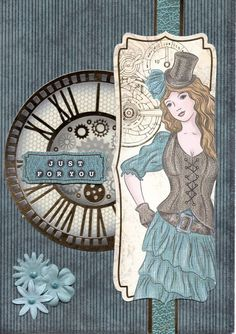 New Steampunk cards including Happy Birthday and With Love