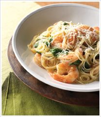 Angel Hair Shrimp Scampi with White Wine Garlic Sauce recipe