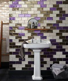 Lustrum™ Electra Purple-Lavanda Tile | Topps Tiles