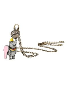 Lift you favorite Dumbo fan's spirits with this sweet necklace. | 33 Beautiful Pieces Of Disney Jewelry You'll Fall In Love With
