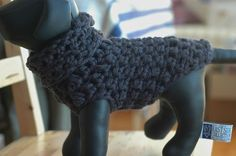 Ravelry: Project Gallery for Crocheted Dog Sweater pattern by vahnee