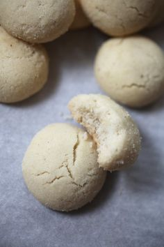 Swedish Dream Cookies - Dromkakor