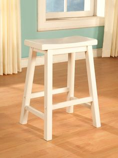"Powell Color Story ""Pure White"" Counter Stool"