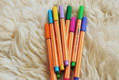 #canetas, #stabilo, #pen