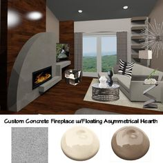 Contemporary Master Bedroom Lounge