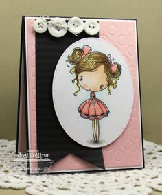 Cupcake Cutie, Striped Backgrounds, Polka Dot Cover-Up Die-namics, Pierced Oval STAX Die-namics, Blueprints 1 Die-namics, Blueprints 2 Die-namics, Fishtail Flags Layers STAX Die-namics - Jodi Collins #mftstamps