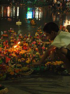 Lot Krathong, the 'Festival of lights' - my favourite Thai festival.