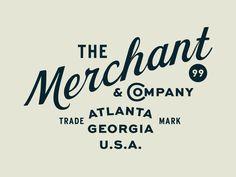 Merchant by Jacob Boyles #Design Popular #Dribbble #shots