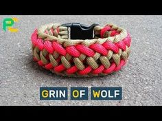 Grin of Wolf Paracord Bracelet - YouTube