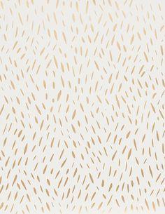 Palea in gold on cream by Juju Paper