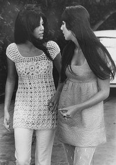 Cher with Tina Sinatra