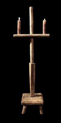 Daryl McMahon: 18th Century adjustable candlestand