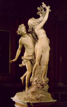 Giovanni Lorenzo Bernini, Apollo and Daphne (around 1625); Villa Borghese