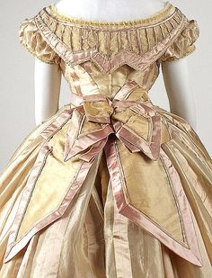 Dress Date: ca. 1865 Culture: French Medium: silk Dimensions: [no dimensions available] Credit Line: Gift of Mary Pierrepont Beckwith, 1969
