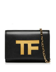 TOM FORD Icon Leather Evening Crossbody Bag