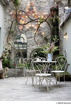 Best patio decorating ideas for A backyard guide to the essentials to make your outdoor space inviting, comfortable and functional. Read our expert tips for the perfect outdoor patio space. For more patio ideas go to Domino. Outdoor Rooms, Outdoor Gardens, Outdoor Living, Outdoor Decor, Outdoor Mirror, Hotel Paris, Paris Hotels, Paris Paris, Paris France