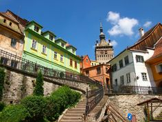 Sighisoara città medievale,  natale di Vlad Tepes XIV sec.  Patrimonio dell'UNESCO(31 luglio)