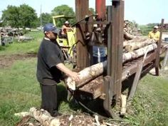 We built this processor almost entirely from scrap and used surplus materials. Works fantastic, can cut and split up to 20 inch diameter to any length you wa. Firewood Processor, Cordwood Homes, Stump Grinder, Skid Steer Attachments, Farm Tools, Wood Sizes, Woodworking Projects, Modern, Youtube
