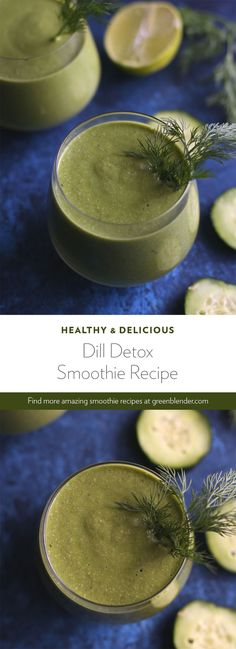 Dill Detox Dill Detox Green Blender greenblender Healthy Smoothie Recipes Dill s natural oils make it a chemoprotective which means that it can nbsp hellip smoothie cleanse immune system Cucumber Smoothie, Cucumber Detox Water, Detox Smoothie Recipes, Weight Loss Smoothie Recipes, Smoothie Cleanse, Detox Drinks, Healthy Smoothies, Vitamix Recipes, Body Cleanse