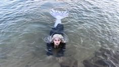 """""""Real"""" Siren Swimming in Lake Michigan Fantasy Creatures, Mythical Creatures, Professional Mermaid, Dark Mermaid, Mermaid Swimming, Lab Rats, Mermaid Pictures, Gothic Models, Real Mermaids"""