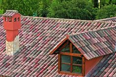 Tejas Borja Curved Centanaria Ground roof tile